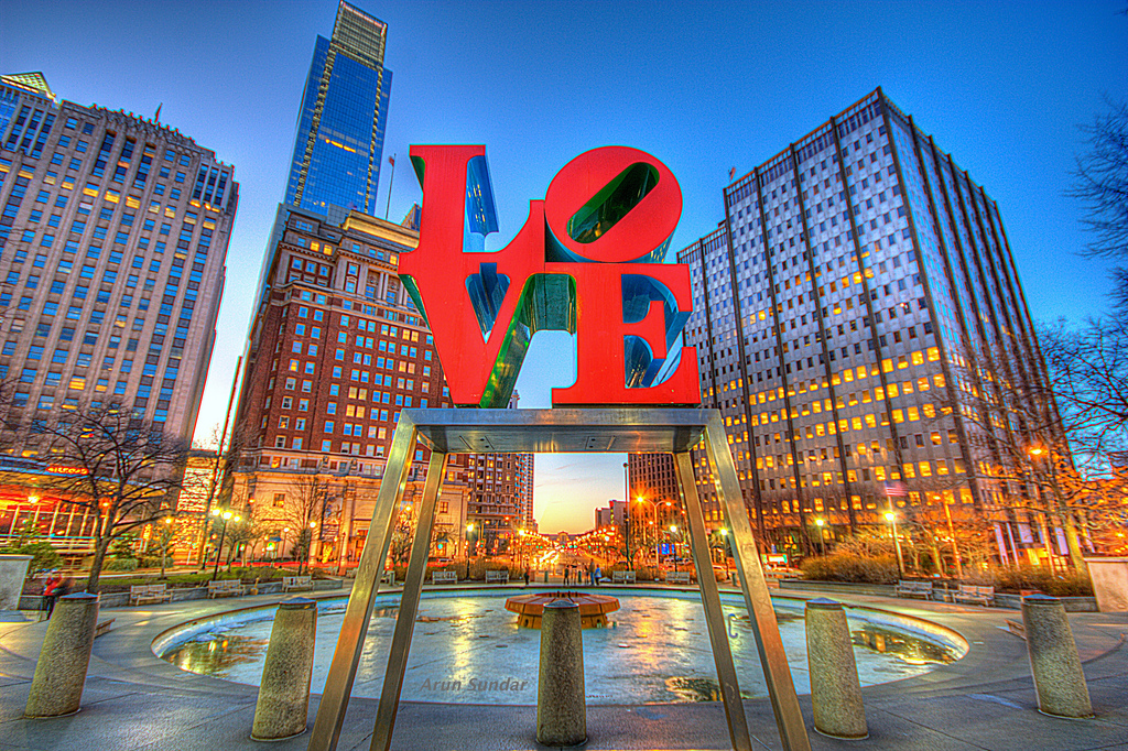 Photo of Love Park in Center City