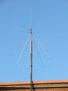 VHF/UHF Wideband Discone Antenna