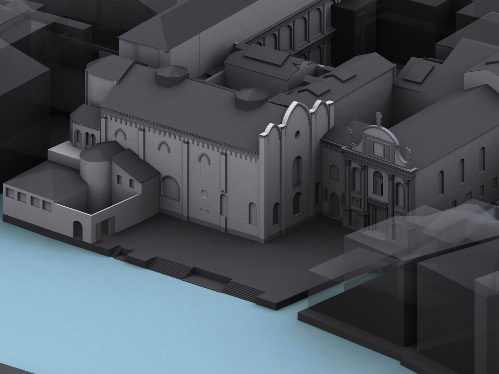 reconstruction of venice