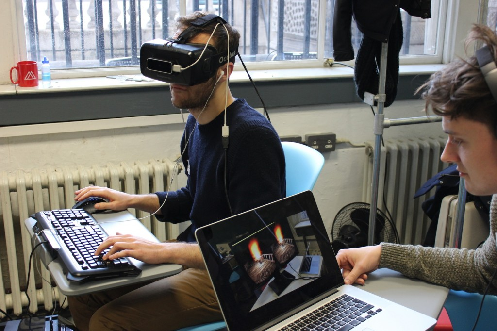 eeg_oculus rift wearing together