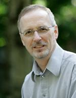 Portrait photograph of Peter Logan