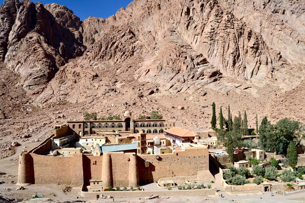 St. Catherine's Monastery, Sinai, Photo: Sinai Palimpsests Project