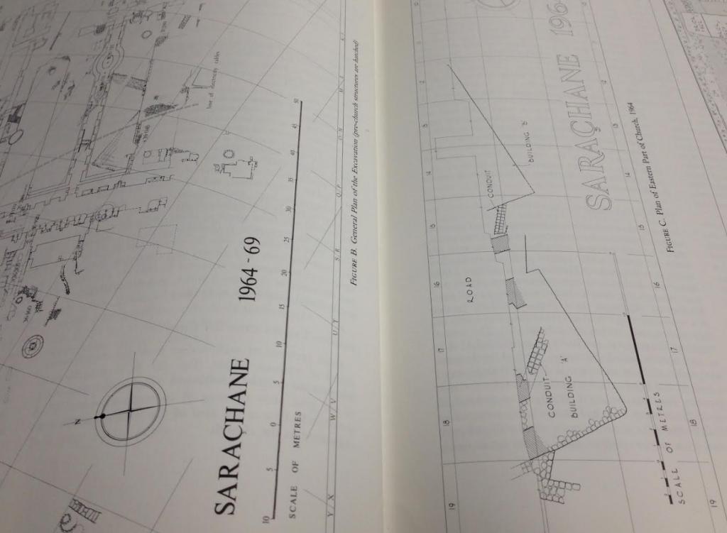 Saraçhane Site Plan (Harrison 1986)