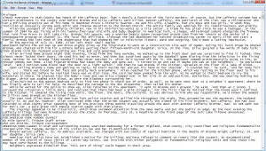 Prologue to Under the Banner of Heaven as a Plain Text file.
