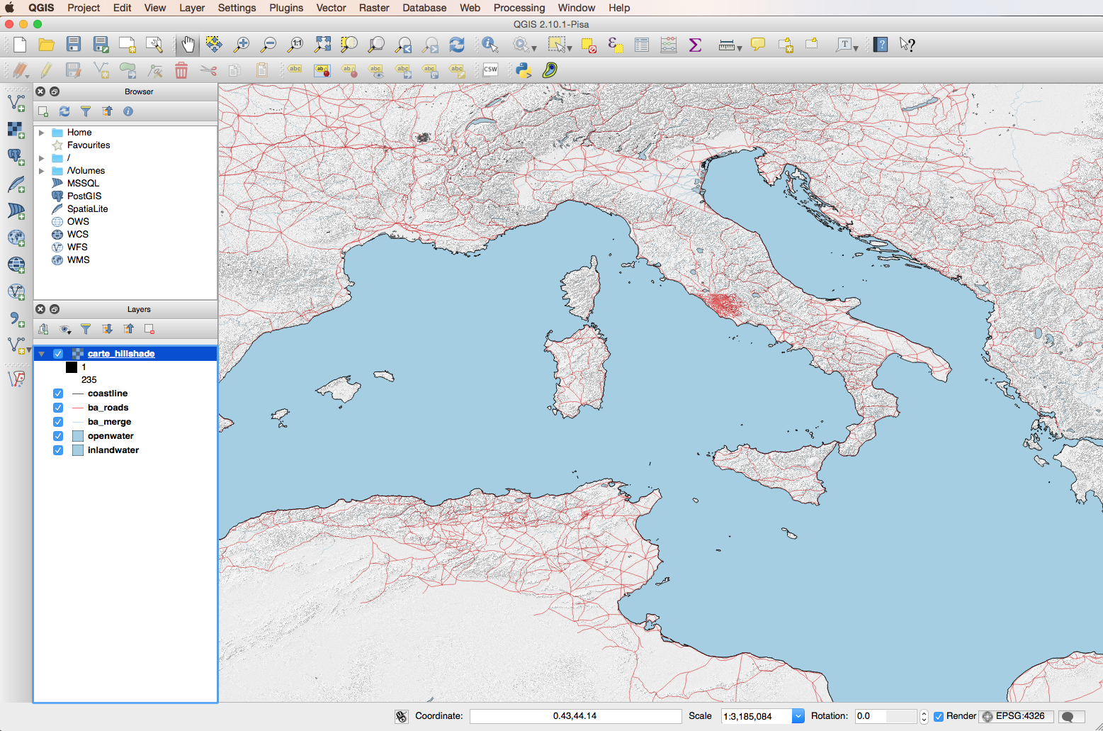 Mapping the ancient mediterranean with qgis a quick guide screen shot 2017 01 25 at 4 26 gumiabroncs Gallery