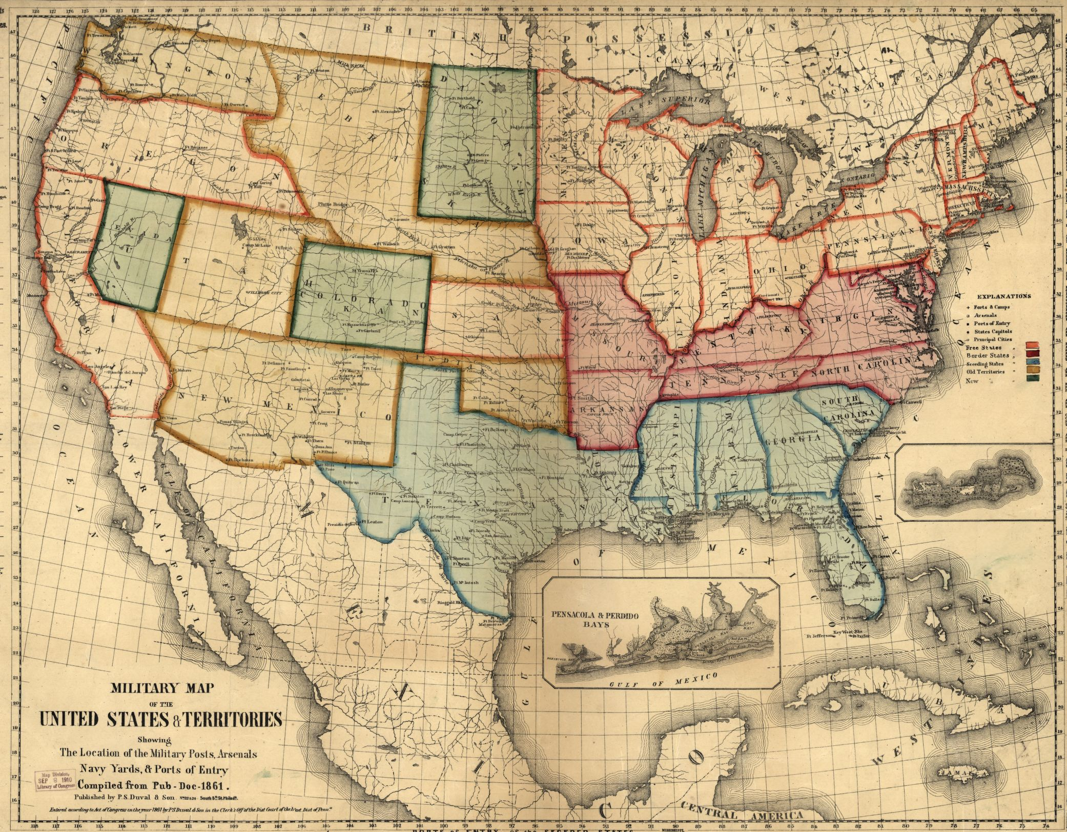 Rethinking The Methods And Geography Of Civil War History Temple - Map of the us during civil war