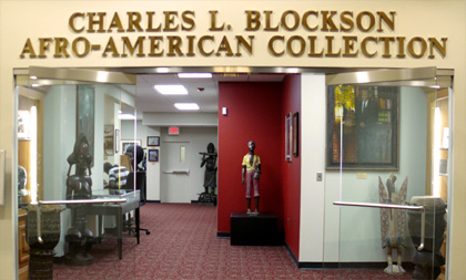 Photo of Blockson Entrance