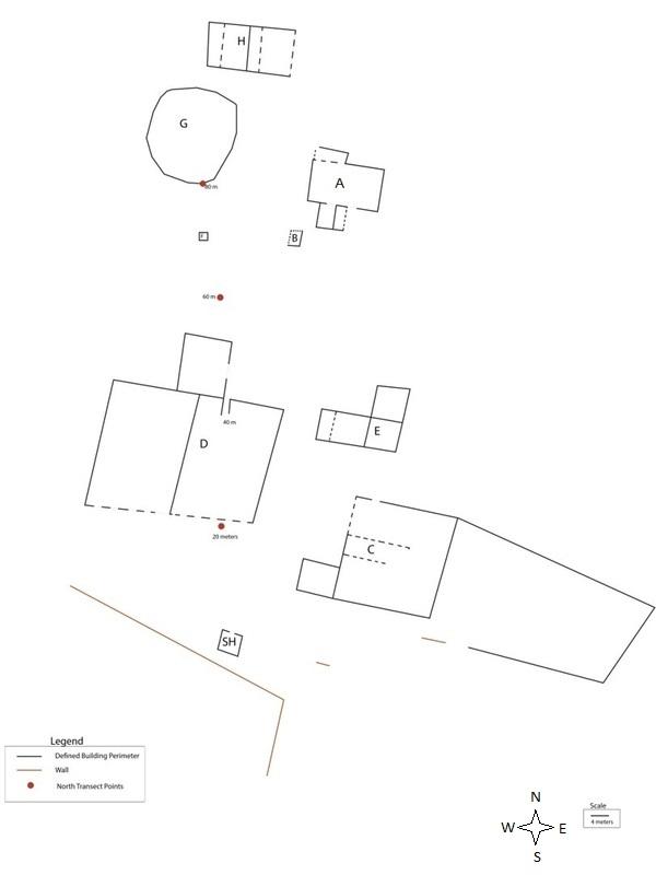 Map of Hughes Estate