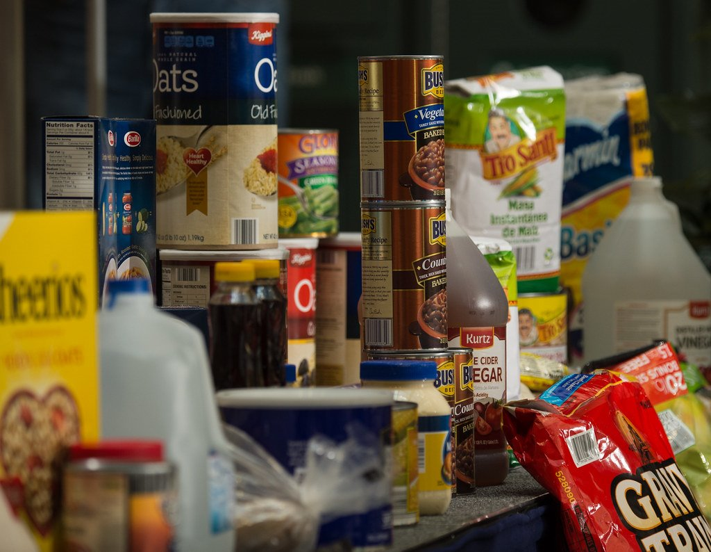 food pantry and food donations