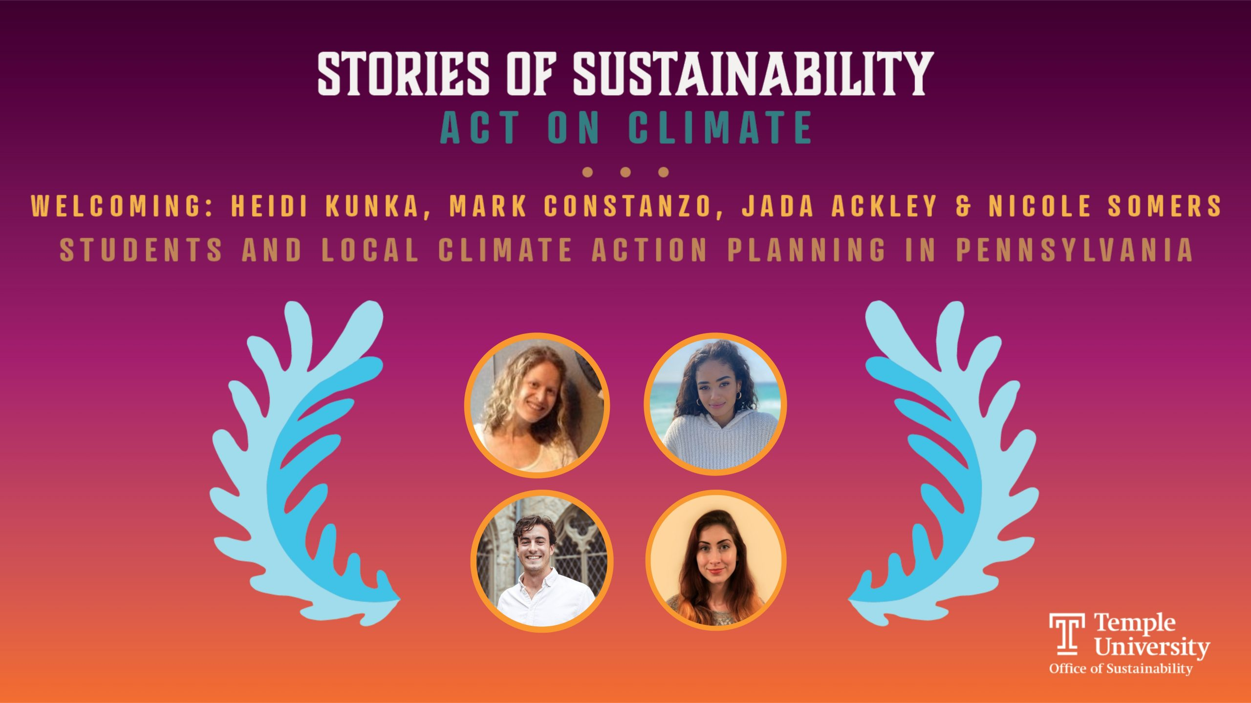 Stories of Sustainability: Blog Header