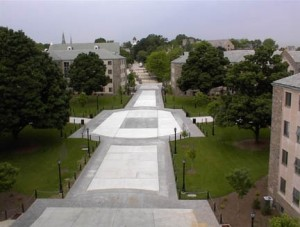 Villanova University Pervious Pavers