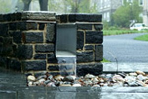 Swarthmore College Science Center Stormwater Management Techniques